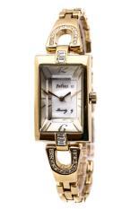 Sale Off Đồng hồ nữ Julius Hàn Quốc JA-443C dây hợp kim (Vàng)