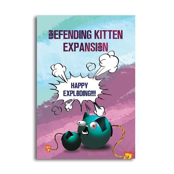 rò chơi Board Game BG1012 – Mèo Nổ Bản Mở Rộng #1 Defending Kittens