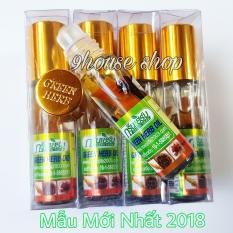 Lốc 12 Dầu Nhân Sâm Ginseng Green Herb Oil Thái Lan (nhập khẩu) – 8ml x12 chai