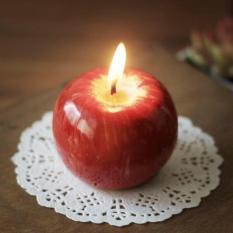 Nến hương hình trái táo cực đẹp, cực lung linh