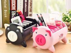 Hộp để điện thoại, điều khiển, bút đa năng hình lợn