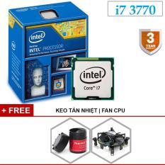 Bộ vi xử lý Intel Core i7 3770 3.40GHz(up to 3.9GHz, 4 lõi,8 luồng), Bus 1333/1600MHz, Cache 8MB, Tặng quạt, keo tản nhiệt, bảo hành 1 đổi 1 trong 36 tháng.
