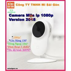 Camera giám sát Xiaomi Mija ip 1080p góc nhìn 130 độ ( Phiên bản 2018)