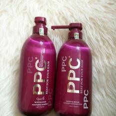 Cặp gội/xả phục hồi tóc hư tổn PPC Best For Your Hair 750ml (1 gội + 1 xả)