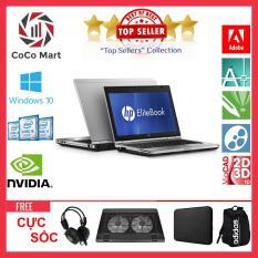 Laptop HP EliteBook 2560p Chạy CPU i7-2620M, 12.5inch, 8GB, SSD 480GB + Bộ Quà Tặng – Hàng Nhập Khẩu