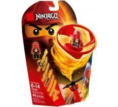 Bộ xếp hình lắp ghép con quay ninja