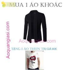 Áo Khoác Nam Cardigan(Tặng áo thun trị giá 80k)