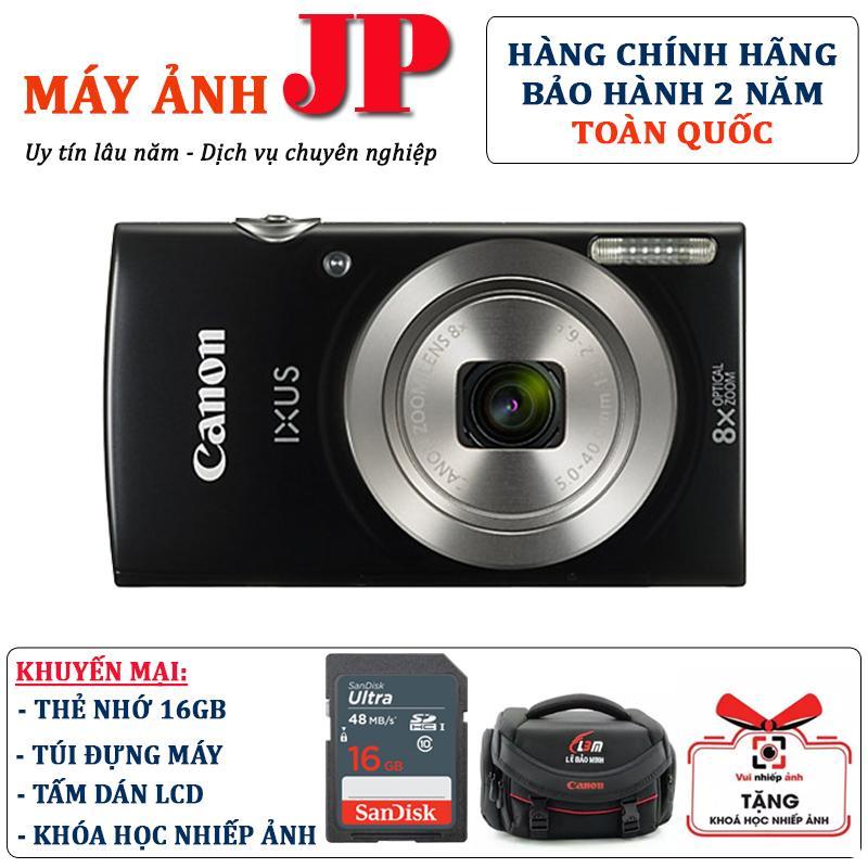 Nên mua Canon IXUS 185 – tặng thẻ 16G + túi máy ở Máy Ảnh JP – 362 Thái Hà