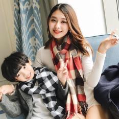 Khăn quàng cổ cho bé trai phong cách Hàn Quốc