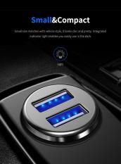 Đánh giá Củ sạc ô tô 2 cổng Rock C8-B 4.8A (Đen Xám) -BH 12 tháng lỗi đổi mới Tại iGoStore