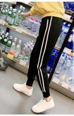 Quần Jogger Thun Nỉ Nam Dáng Côn Bo GấuHai Sọc Kiểu Dáng Thể Thao Yodi Store QUAN NAM 100008 B