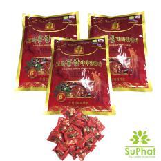 Bộ 3 gói kẹo sâm Vitamin 6 tuổi Hàn Quốc 200g [SuPhat Shop]
