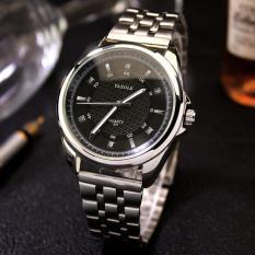 Đồng hồ thời trang nam dây thép không gỉ cao cấp YAZOLE Q07