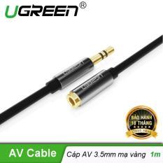 Dây AV nối dài 3.5mm mạ vàng dài 1m UGREEN AV118 10592