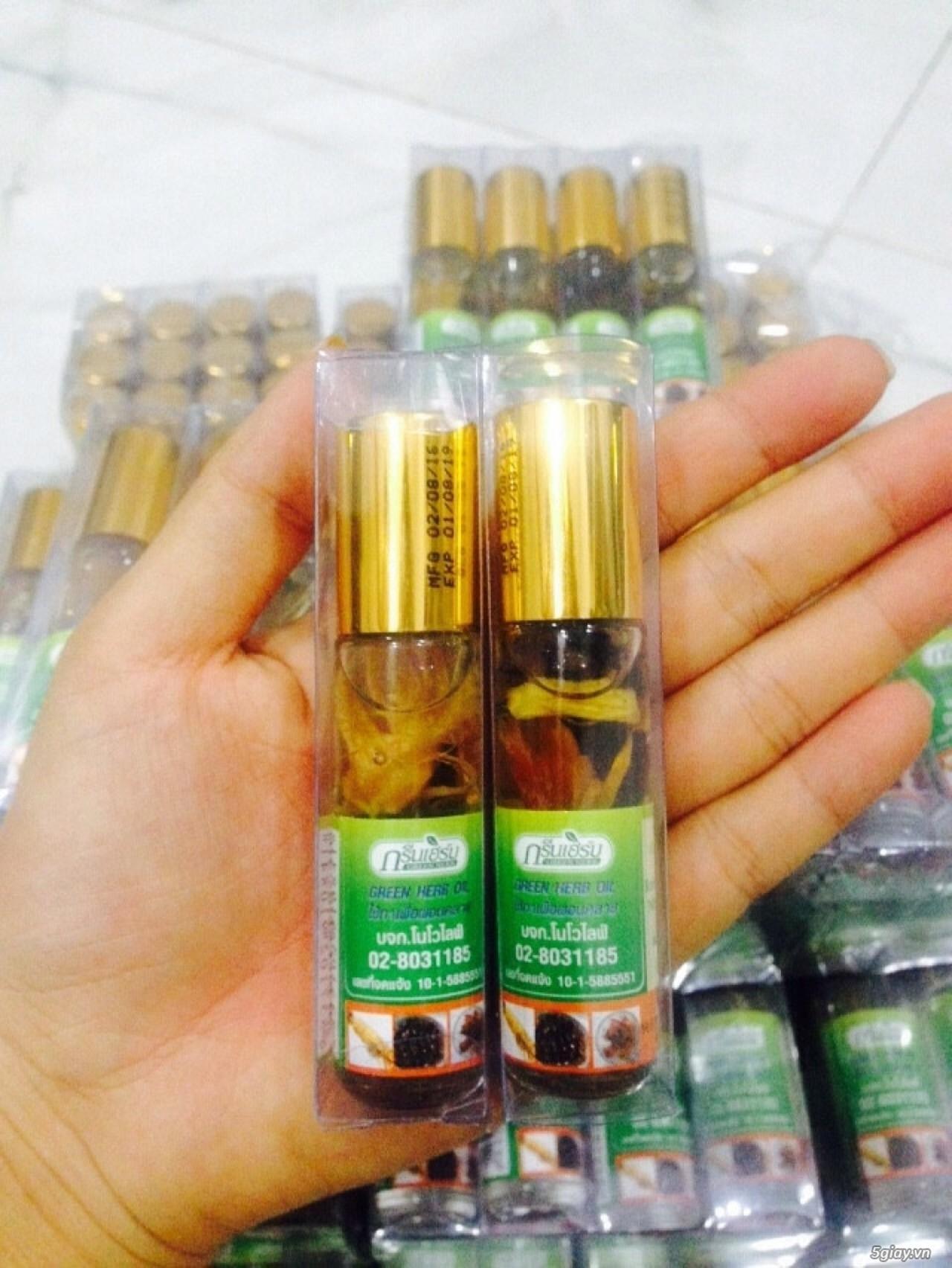 Tinh dầu nhân sâm Thái
