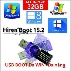 USB 32GB cài Đa WIN 7, 8, 10 ALL – MS Office ALL