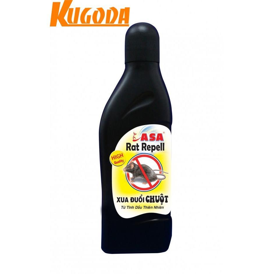 Mẫu sản phẩm Tinh dầu xua đuổi chuột ASA Rat Repell Kugoda – kgd0246