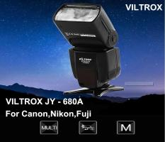 VILTROX JY – 680A Universal LCD Flash Speedlite Light for Any Digital Camera with Standard Hot Shoe Mount