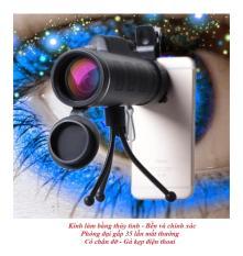len điện thoại – Ống nhòm 1 mắt Panda Monocula Kẹp điện thoại, Chỉnh Zoom cho Điện thoại x35 lần – Ống nhòm mini ngắm xa – len điện thoại iphone