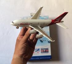 máy bay sắt chạy đà phát nhạc A380( chất liệu cao cấp)