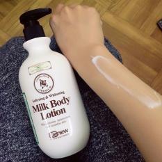 Sữa dưỡng thể làm trắng da Whitening Body Lotion Hàn Quốc 450ml