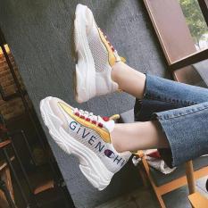 Giày thể thao nữ độn đế phối màu cao cấp