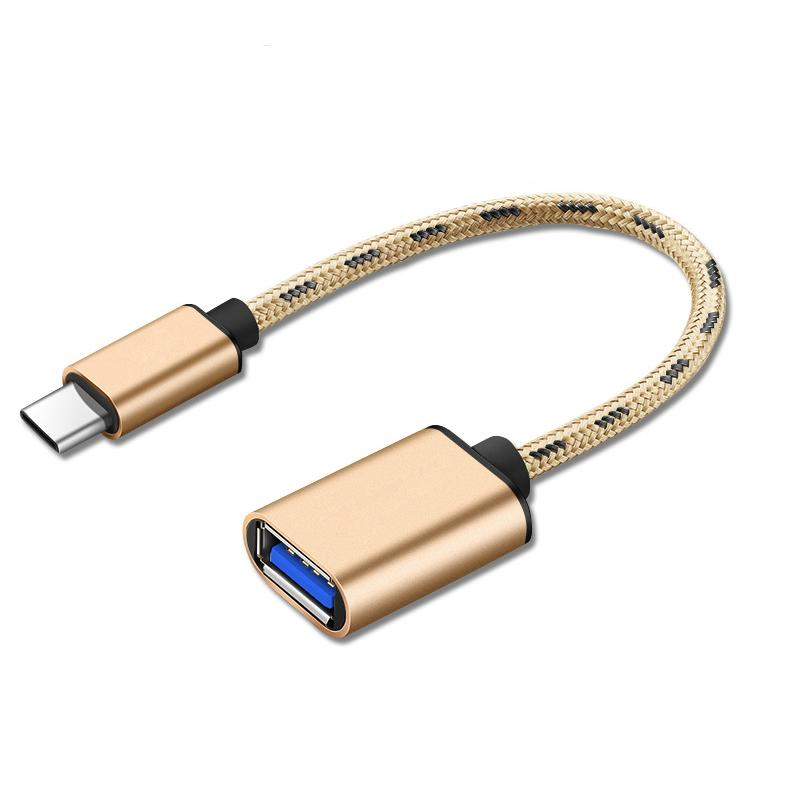 Cáp OTG chuyển đổi USB-C/ USB Type-C sang USB 3.0 TỐC ĐỘ CAO cho các thiết bị máy tính bảng, ANDROID, Mac pro, Samsung, 3G