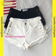 quần short rách thắt dây mt261 sành điệu zingme