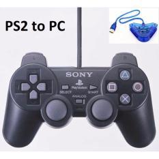 Tay Cầm PS2 (Model M) Cao cấp + Cổng Chuyển máy tính