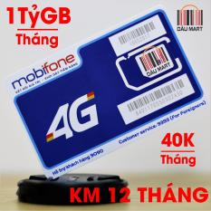 SIM 4G MAX DATA 1 Tỷ GB/Tháng Mobifone F120WF