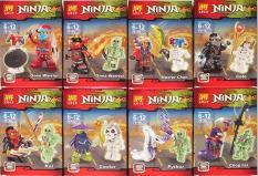 Hộp lego xếp hình lắp ráp ninja – Ninja Masters of Spinjitzu 79156