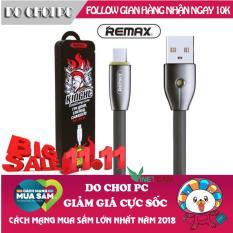 Cáp sạc tự ngắt, cáp sạc pin nhanh thông minh tự ngắt khi sạc đầy Micro USB Remax Kinght RC-043m