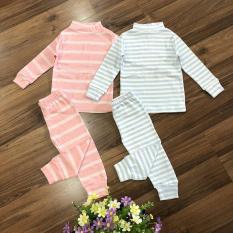Combo 2 bộ đồ tay dài bo cổ lọ cao cấp Viet Kids(Giữ ấm cho em bé từ 8-20kg)