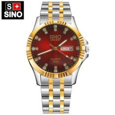 (Tặng kèm vòng tay tỳ hưu) Đồng hồ nam Sino Japan Movt SI3022 – Công nghệ mạ chân không