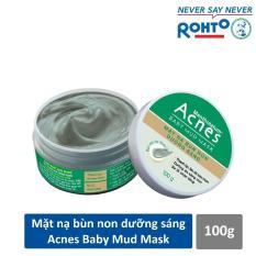 Mặt nạ bùn non dưỡng sáng da Acnes Baby Mud Mask 100g