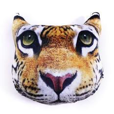 GỐI TỰA LƯNG 3D Hai con hổ vàng (07) chuyên dùng trang trí phòng khách