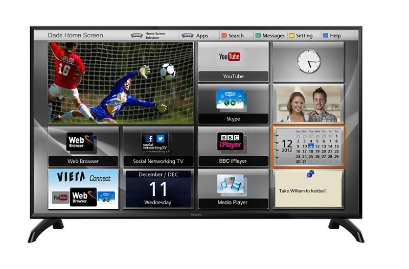 Smart Tivi Panasonic 43 inch Full HD – Model TH-43ES500V (Đen)