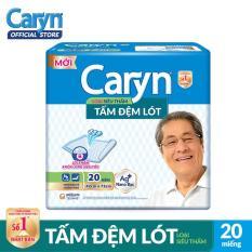 Tấm đệm lót Caryn siêu thấm và mỏng nhẹ 20 miếng