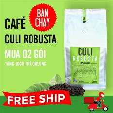 Cafe Culi Robusta nguyên chất 500g – The Kaffeine Coffee