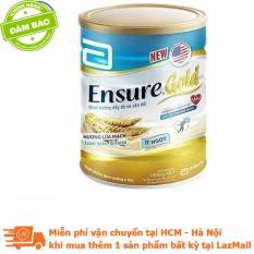 Lon sữa bột Ensure Gold hương lúa mạch ít ngọt 850g
