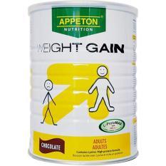 Sữa Appeton Weight Gain 900g của Pháp (Vị Sô cô la)