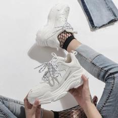 Giày thể thao viền chữ ABC ( LƯU Ý: size giày ở dưới đế, số 36 ở trên mũi giày là trang trí)