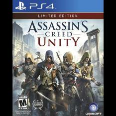 Đĩa game PS4 ASSASSIN'S CREED UNITY (Limited Edition)