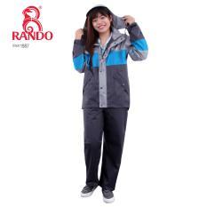 Bộ áo mưa ECO Rando size XXL (Xanh Joly)