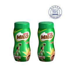 Bộ 2 Hũ Nestlé MILO® Nguyên Chất dạng bột (Hũ 400 g)