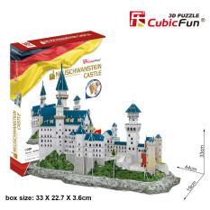 Đồ chơi xếp hình 3D cỡ lớn – Mô hình Lâu Đài Neuschwanstein