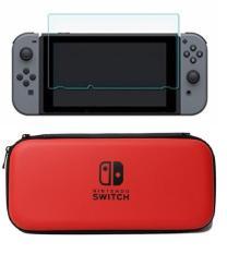 Túi du lịch bao đựng máy + Miếng Dán Cường Lực Nintendo Switch