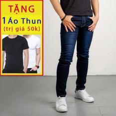quần jean co giãn q104 ôm body vải tốt TẶNG KÈM ÁO THUN