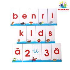 Bộ Thẻ Học Nhận Biết Chữ Cái Và Số Đếm Benrikids Cho Bé