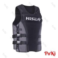 Áo phao bơi cứu hộ BLACK HISEA, chuyên dùng cho các môn thể thao mạo hiểm dưới nước, đạt tiêu chuẩn EU cao cấp – POKI